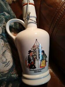 Swing top decorative bottle