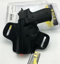 Fits SIG P228 P229   BH3-421 Tagua Open Top Belt Holster OWB Black Leather LH