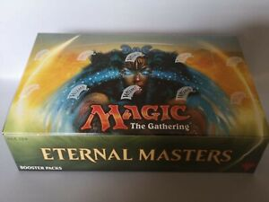 Magic The Gathering Eternal Masters Sealed Factory Display Box of 24 Boosters