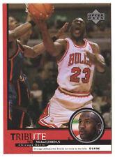 Michael Jordan 1999 Upper Deck Tribute Defeat knicks to title Basketball Card