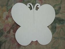 51 White Cardboard Butterflies Bulletin Board Cards Pinups New