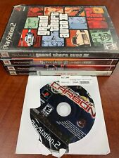 PS2 5 Game Lot Used & Tested GTA III Need For Speed Carbon Bowling Playstation 2