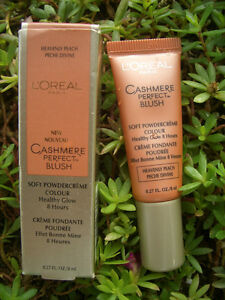 L'OREAL CASHMERE PERFECT HEALTHY GLOW, 8 HOUR BLUSH, HEAVENLY PEACH