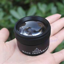 30x36mm Jeweler Optics Loupes Magnifier Magnifying Glass Lens Loop Microscope N