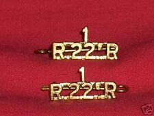 1 ROYAL 22nd REGIMENT CANADA Shoulder Title Badges