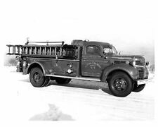 1947 Dodge Sanford Fire Truck Factory Photo Clifton u8508-Q5V9NJ