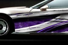 RACE CAR GRAPHICS Vinyl Wrap Decal IMCA Late Model # B Racing Stripes