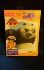 Brand New Fisher- Price IXL Learning Software Cartdridge King Fu Panda 2