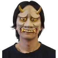 Hannya mask half Mask kigurumi costume Halloween Party New Japan rubber