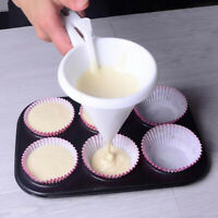 Pancake Cupcake Candy Cream Dispenser Batter Funnel Baking Mold Pastry Tools