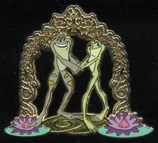 Disneystore.com - Princess Tiana and Naveen as Frogs - LE 250 Disney Pin 74922