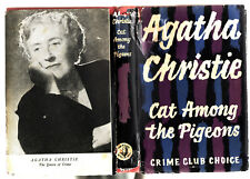 AGATHA CHRISTIE - CAT AMONG THE PIGEONS    FIRST EDITION AUSTRALIA