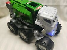 Matchbox 2009 Transforming Interactive Robot  Green STINKY The Garbage Truck