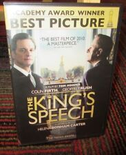 THE KING'S SPEECH (LE DISCOURS DU ROI) DVD MOVIE, COLIN FIRTH, ENGLISH / FRENCH