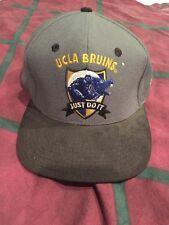 ORIGINAL 1990's UCLA Bruins Nike Wool SnapBack Hat Vntg Just Do It