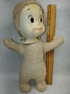 Vintage Casper The Friendly Ghost Doll Talking 1960's