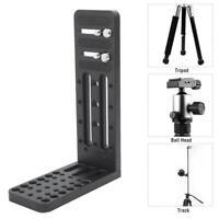 Camera L-Shape Quick Release Plate Tripod Hydraulic For Canon Sony Nilkon Camera