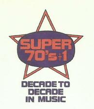 """Super 70s + 1"" 1970's 1970s Seventies 11-Hour Radio Show + 22 pages cue sheets!"