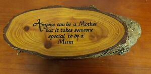"""Handcrafted Wooden Wall Hanging Sign """"Mum"""""""