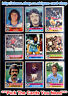 ☆ Topps 1977 Football Red Back Cards 1 to 100 (G/F) *Pick The Cards You Need*