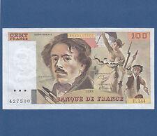 FRANKREICH / FRANCE 100 Francs 1989  AU-UNC  P.154 d