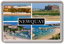 FRIDGE MAGNET - NEWQUAY - Large - Cornwall TOURIST