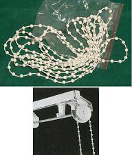 Pour Mécanisme Rail de Stores_1 Chaîne sans fin Blanc cassé 155 cm_tissus_Blinds