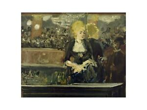 Edouard Manet - Study for Bar in the Folies-Bergere 1881 Print 60x80cm