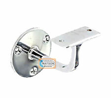 "PACK 2 63mm 2.1/2"" CP CHROME PLATED HANDRAIL Bracket Staircase Banister Support"