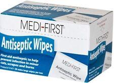 Benzalkonium (BZK) Chloride Antiseptic Towelettes Wipes 4 Box (80 Pads) MS60710