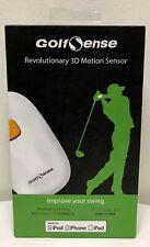 GolfSense Golfswing 3D Analyzer Motion Sensor w/ Cable (White)