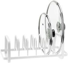 5 Tier Pan And Pot Lid Organizer Rack Holder Stainless Steel Kitchen Storage Usa