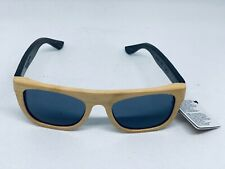 WOOD FELLAS SUNGLASSES Sonnenbrille MINO Holzbrille BAMBUS WHEAT/BROWN