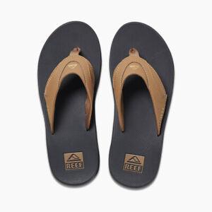 REEF Men's FANNING Bottle Opener Sandals - C12546 - Grey/Khaki  Size 11 LAST ONE