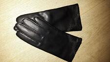 Echtleder Handschuhe schwarz größe M