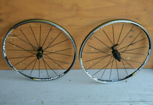"retro oldschool French Crossride black clincher mountainbike wheels wheelset 26"""