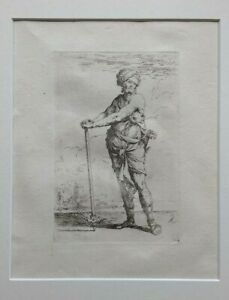 Salvatore Rosa 17th century old master etching