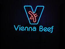 "New Vienna Beef Neon Light Sign Home Decor Bar Pub Gift 20""x16"""