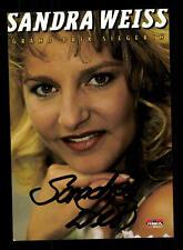 Sandra Weiss Autogrammkarte Original Signiert ## BC 88671
