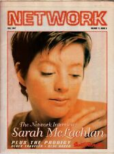 Network Magazine Fall 1997 Sarah McLachlan Blues Traveler Blue Rodeo The Prodigy