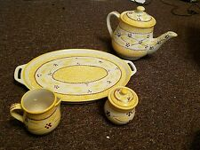 Temp-tations Old World Yellow 6 Pieces Dinnerware Set