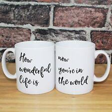 More details for your song elton john anniversary gift - instagram ready mug set - ideal couple