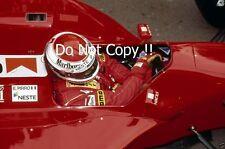 Emmanuel Pirro Scuderia Italia BMS DALLARA 191 F1 saison 1991 photographie