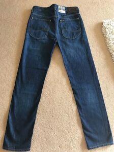 NEW Men's Lee Cash Regular Tapered Jeans,W30 L32 (1116)