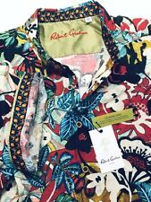 Robert Graham 2XL Shirt Mens Havana Multicolor Floral Linen New