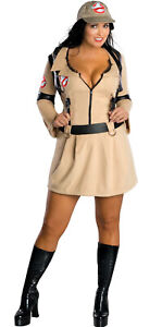 Ghostbuster Adult Womens Ladies Plus Size Fancy Dress Up Halloween Costume