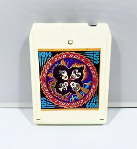 Kiss Rock And Roll Over 8 Track Cassette Cartridge 1976 Casablanca Records Clean