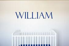 Name - Vinyl Decal Wall Art Decor for Nursery Children Boys Baby Room v3
