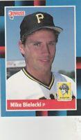 FREE SHIPPING-MINT-1988 Donruss #484 Mike Bielecki Pittsburgh Pirates Baseball