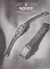 PUBLICITE de presse Montres ROLEX 1947  French ad